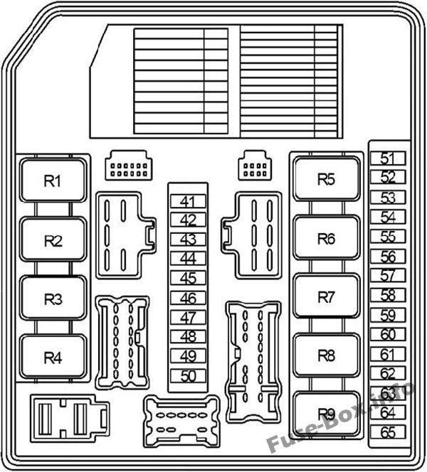 fuse box diagram  u0026gt  nissan note  e11  2004
