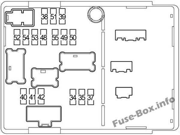 Fuse Box Diagram  U0026gt  Nissan Versa Note    Note  2013