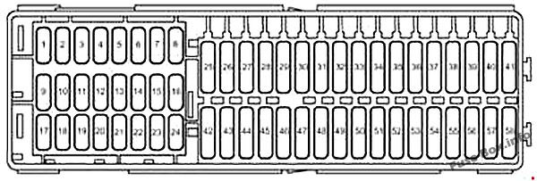 Fuse Box Diagram  U0026gt  Volkswagen Caddy  2k  2003