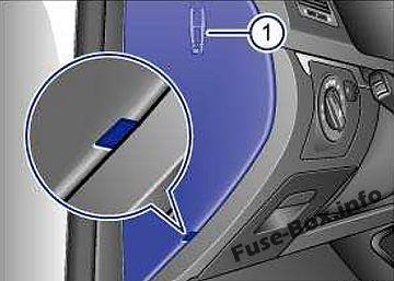 [SCHEMATICS_44OR]  Fuse Box Diagram Volkswagen Golf VI GTI (mk6; 2009-2013) | 2013 Golf Fuse Box |  | Fuse-Box.info