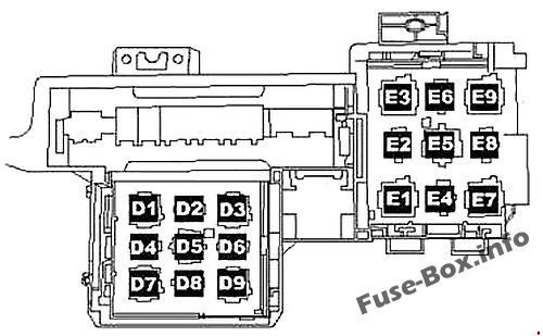 Fuse Box Diagram Volkswagen Touareg  2006