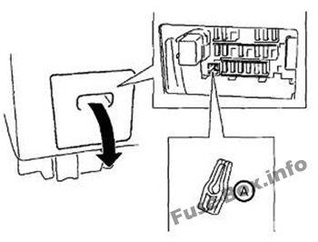 fuse box diagram nissan patrol y61 1997 2013. Black Bedroom Furniture Sets. Home Design Ideas