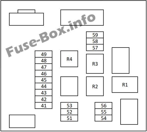 Qashqai Fuse Box Diagram : Nissan qashqai