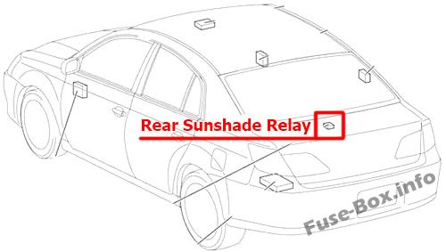 fuse box diagram  u0026gt  toyota avalon  xx30  2005 2012