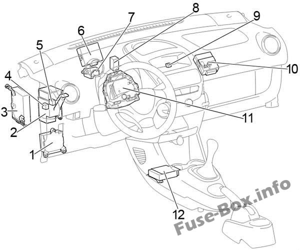 Toyota Aygo Ab10 2005 2014 Fuse Box Diagram