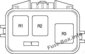 Relay box: Toyota Camry (2002, 2003, 2004, 2005, 2006)