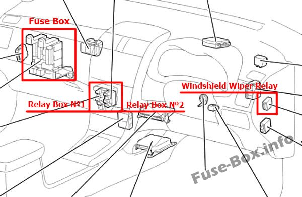 [FPER_4992]  Fuse Box Diagram Toyota Corolla (E140/E150; 2007-2013) | 2007 Toyota Corolla Fuse Diagram |  | Fuse-Box.info