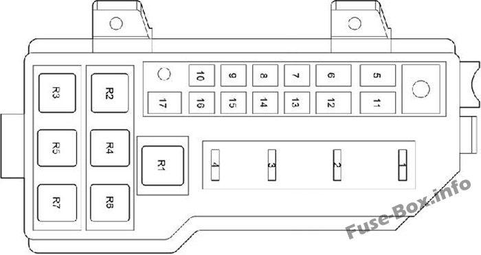 fuse box diagram toyota hiace h200 2005 2013. Black Bedroom Furniture Sets. Home Design Ideas