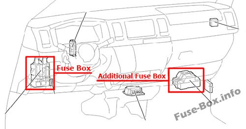 2009 toyota tacoma fuse box location toyota hiace fuse box location