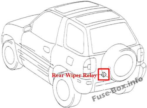 Fuse Box Diagram  U0026gt  Toyota Rav4  Xa10  1995
