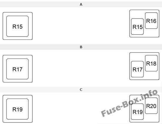 Fuse Box Diagram Toyota Rav4  Xa40  2013