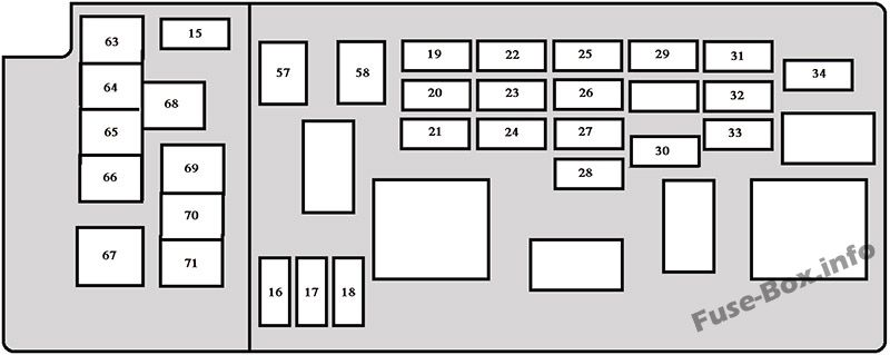 Fuse Box Diagram  U0026gt  Toyota Sequoia  2001