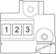 Fuse Box Diagram > Toyota iQ / Scion iQ (2008-2015)  Scion Fuse Box on