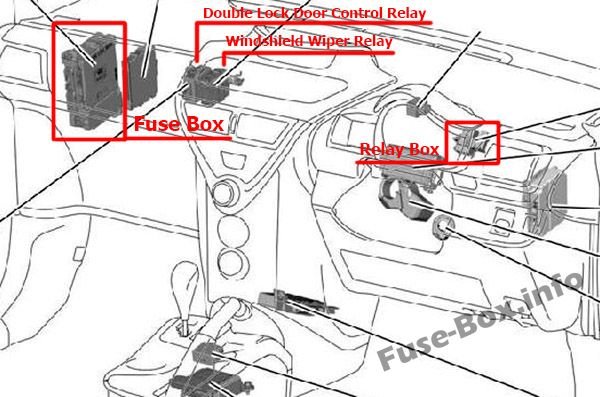 Fuse Box Diagram  U0026gt  Toyota Iq    Scion Iq  2008