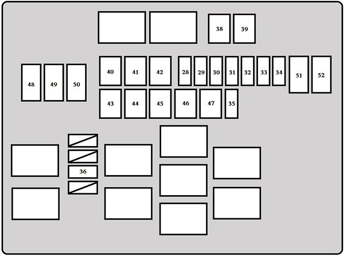 Fuse Box Diagram Toyota Dyna  U600  U800  2011