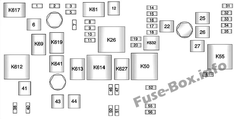 Fuse Box Diagram  U0026gt  Chevrolet Camaro  2010