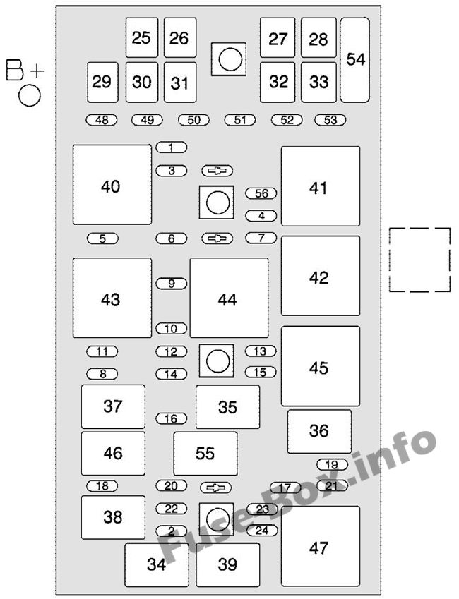 Fuse Box Diagram  U0026gt  Chevrolet Corvette  C6  2005