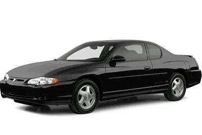 Fuse Box Diagram Chevrolet Monte Carlo (2000-2005)