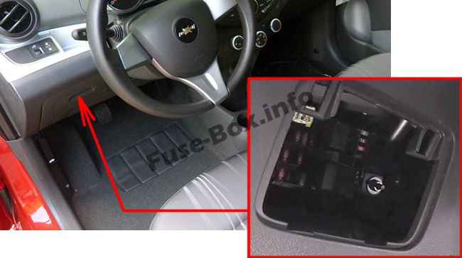 06 chevy uplander fuse box location chevy spark fuse box location chevrolet spark (eu) (m300; 2010-2015)