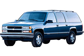 Fuse Box Diagram Chevrolet Suburban (GMT400; 1993-1999)Fuse-Box.info