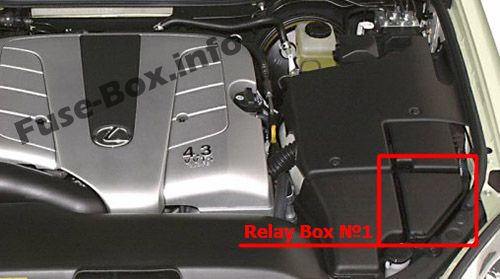 Fuse Box Diagram Lexus Ls430  Xf30  2000