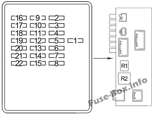 Fuse Box Diagram  U0026gt  Lexus Ls430  Xf30  2000