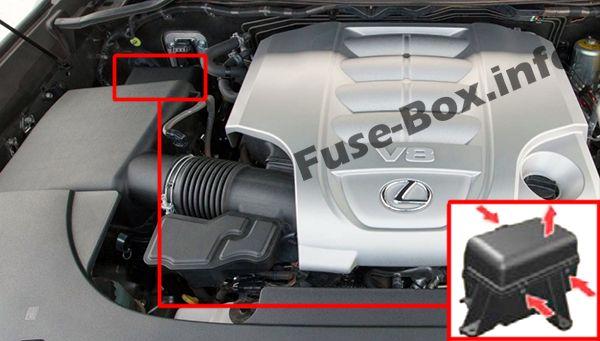 [ZHKZ_3066]  Fuse Box Diagram Lexus LX570 (J200; 2008-2015) | Lexus Lx 570 Fuse Box |  | Fuse-Box.info