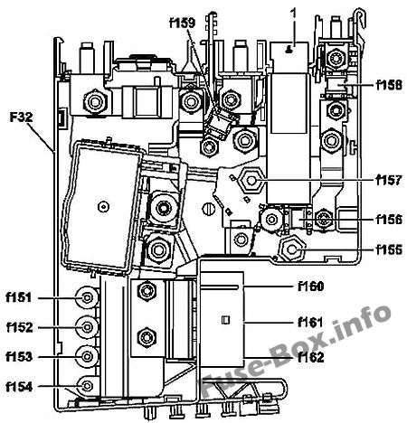 Fuse Box Diagram Mercedes-Benz C-Class (W204; 2008-2014)Fuse-Box.info