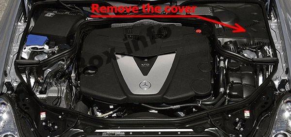 Fuse Box Diagram > Mercedes-Benz CLS-Class (W219