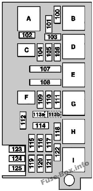 fuse box diagram mercedes-benz m-class (w164; 2006-2011)  fuse-box.info