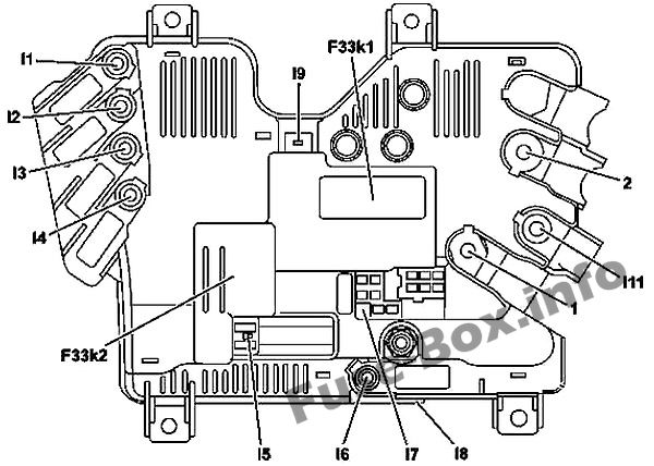 Mercedes Benz S Class W222 2014 2019 Fuse Box Diagram