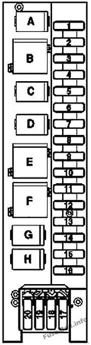 [ZHKZ_3066]  Fuse Box Diagram Mercedes-Benz SLK-Class (R171; 2005-2011) | Slk 280 Fuse Box |  | Fuse-Box.info