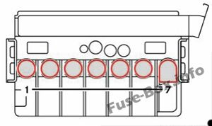 Fuse Box Diagram > Mercedes-Benz Sprinter (W906; 2006-2018)