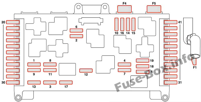 fuse box diagram mercedes benz vito w639 2004 2010. Black Bedroom Furniture Sets. Home Design Ideas