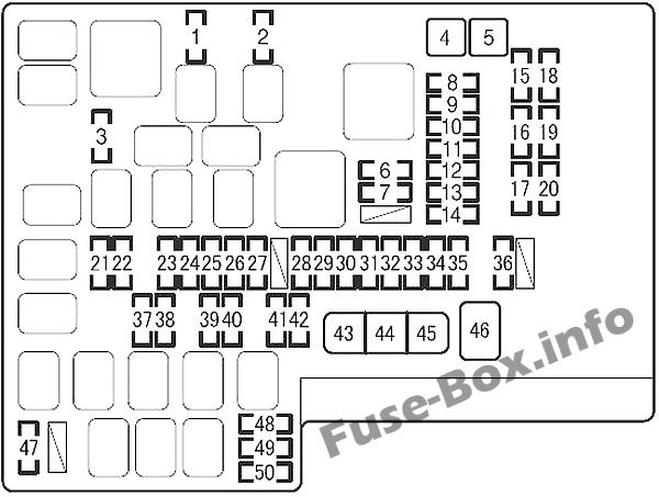 Fuse Box Diagram Scion Fr