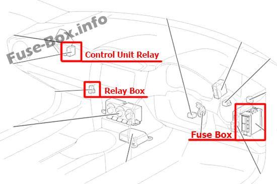 Fuse Box Diagram Toyota 86    Gt86  2012