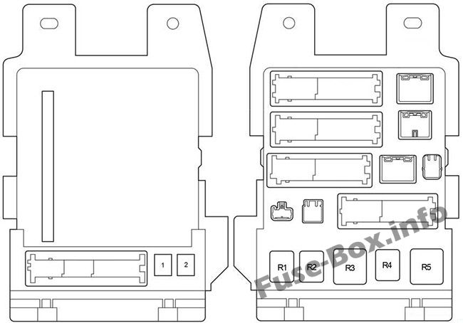 Fuse Box Diagram Toyota Sienna Xl20 2004 2010