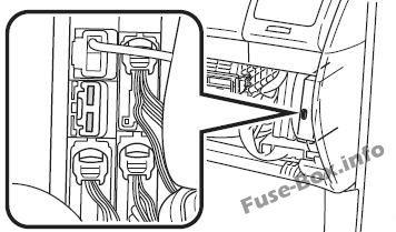Fuse Box Diagram Toyota Sienna Xl20 2004 2010