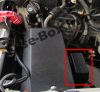 Engine Compartment Relay Box: Toyota Tacoma (2005-2015)