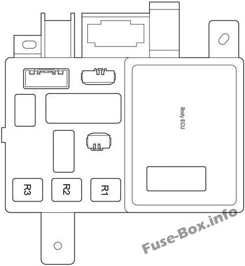 Fuse Box Diagram Toyota Tacoma 2005 2015