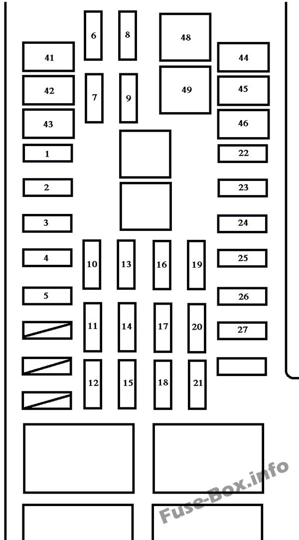fuse box diagram toyota tundra 2000 2006. Black Bedroom Furniture Sets. Home Design Ideas