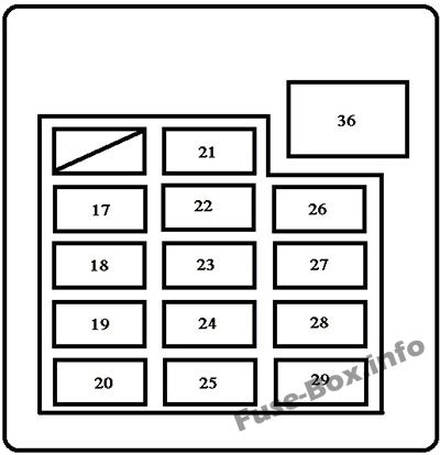 [DIAGRAM_3US]  Fuse Box Diagram Toyota Tundra (2000-2006) | Fuse Box For 2003 Toyota Tundra |  | Fuse-Box.info