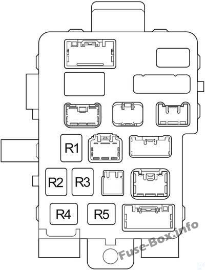 Fuse Box Diagram Toyota Tundra  2004