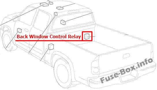 Fuse Box Diagram  U0026gt  Toyota Tundra  2004