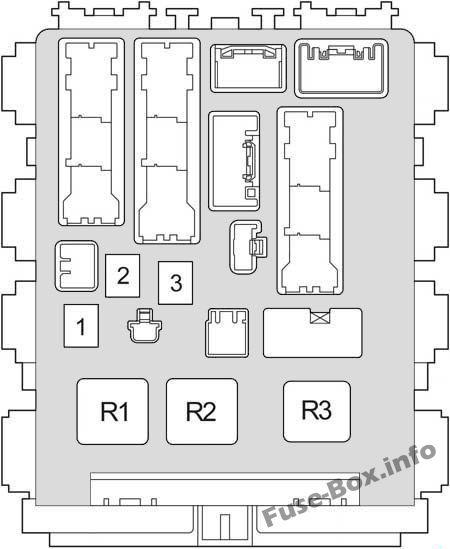 Fuse Box Diagram Toyota Yaris/Vitz/Belta (XP90; 2005-2013) | 2007 Yaris Fuse Box Diagram |  | Fuse-Box.info
