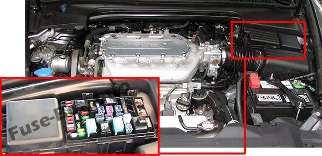 Acura Tl Ua6ua7 20042008 < Fuse Box Diagram. The Location Of Fuses In Engine Partment Acura Tl Ua6ua7. Acura. 2005 Acura Tl Interior Fuse Box Diagram At Scoala.co