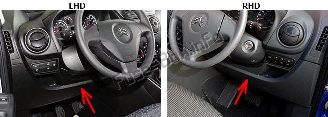 Fuse Box Diagram Citroën Nemo (2008-2015) | Citroen Nemo Fuse Box Diagram |  | Fuse-Box.info