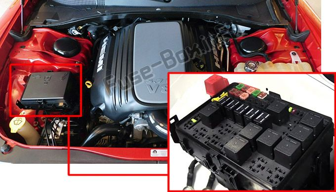 2012 Dodge Charger Fuse Box Location : Dodge charger