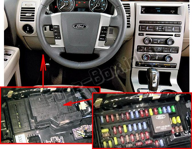 2011 ford flex fuse diagram ford flex (2009-2012)