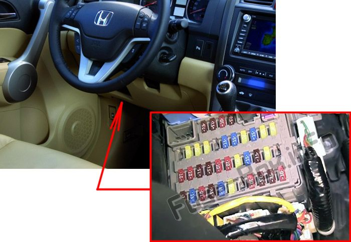 2000 honda cr v fuse box diagram: honda cr-v (2007-2011